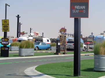 More of the food truck park