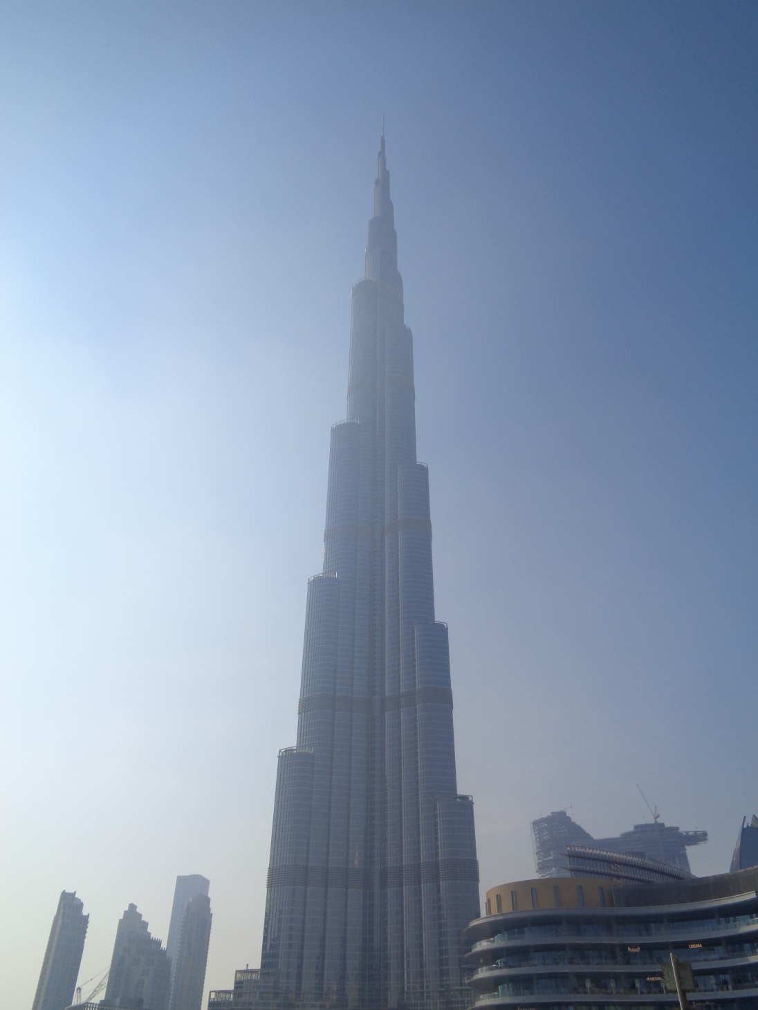The Burj Khakila...tallest building in the world