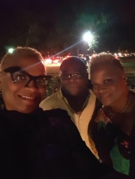 One of the last times I would see my father...an oldies concert in Philadelphia. The Ojays and the Whispers. Music was the thing that could bring us together when things were together.