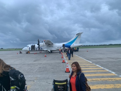 Airport in Manta. We had to fly 45 mins from Quito to this spot and still take a 45 minute ride to the house.